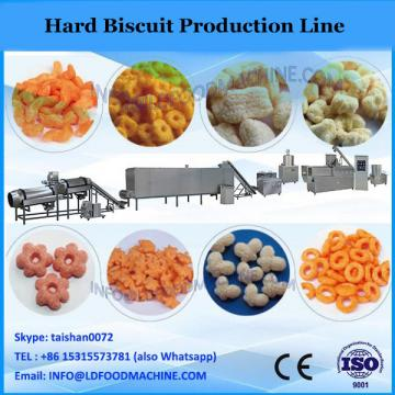 China 2015 popular good quality factory full automatic food confectionary hard and soft biscuit making machine price