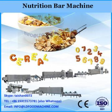 Siemens Motor Hot Sale Double Screw Output 180 to 250kg per hour Automatic High Quality Nutrition bar Snacks Making Machine