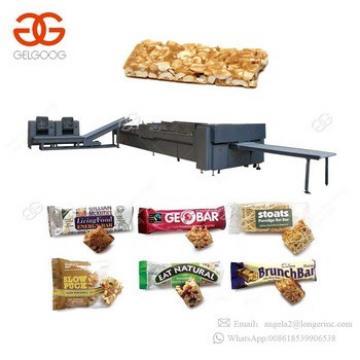 Guangzhou Gelgoog Granola Moulding Machine Chikki Making Machines Cereal Bar Cutting Rice Cake Making Machine