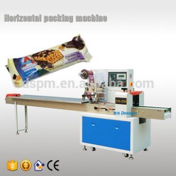 horizontal granola bar flowpack machine