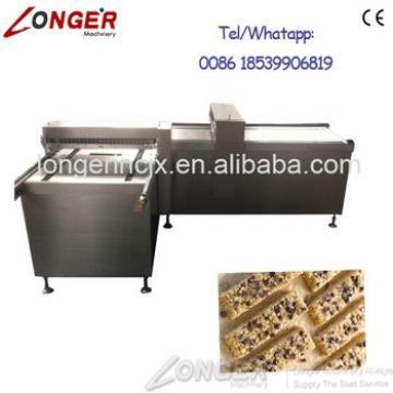 Industrial Granola Bar Making Machine | Cereal Candy Bar Cutter Machine