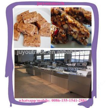 Industriall protein engergy bar pressing cutting machine peanut cereal candy bar making machine