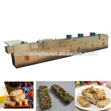 Granola Cereal Energy bar production line peanut brittle making machine