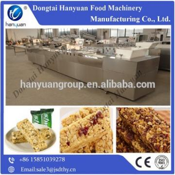 Crispy bar forming and cutting machine,cereal bar processing line