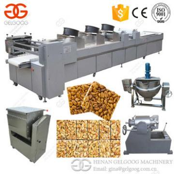 Factory Snack Bar Cutting Machine Sesame Granola Cereal Peanut Bar Machine Nougat Making Machine