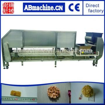 Fully Automatic High Speed Energy Bar Making Cereal Bars Pressing And Cutting Machine For Granola Snack Bar