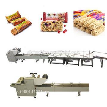 bread packing machine cookie wrapping machine granola bar packaging machine