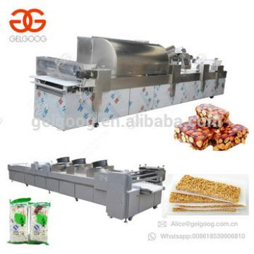 New Design Cereal Granola Muesli Protein Candy Peanut Brittle Forming Production Line Sesame Energy Beauty Bar Making Machine