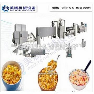Corn flakes/Coco curls/breakfast cereal processing machine