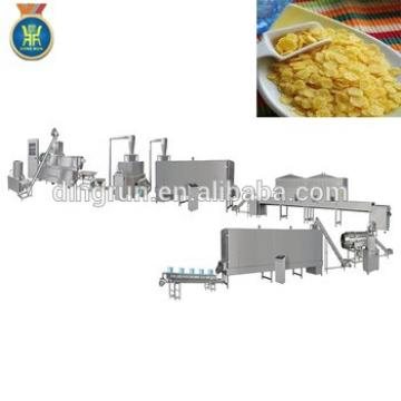 breakfast cereal corn flakes processing line breakfast cereal extruder