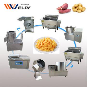 30kg-200kg semi-automatic potato chips making machine with low cost
