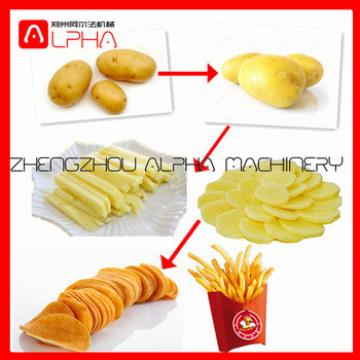 potato chips continuous fryer/chips making machine