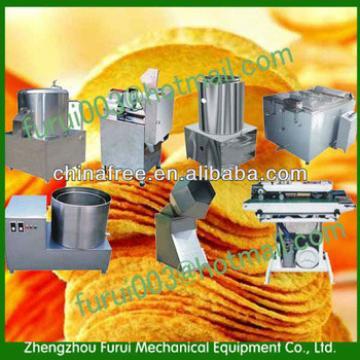 semi-automatic potato chips making machine produce line