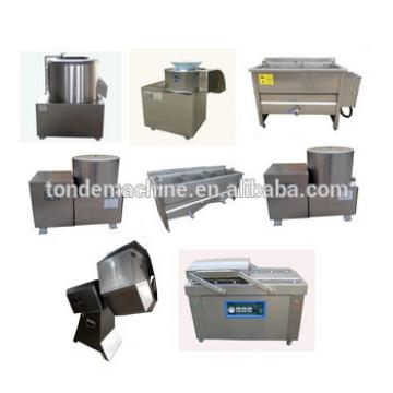 Semi Automatic Potato Chips Making Machine Potato Chips Factory Machines