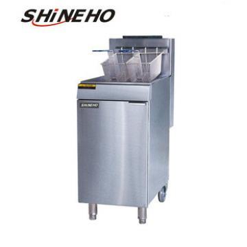 hot sale gas chicken grill machine/oil-water fryer/potato chips making machine
