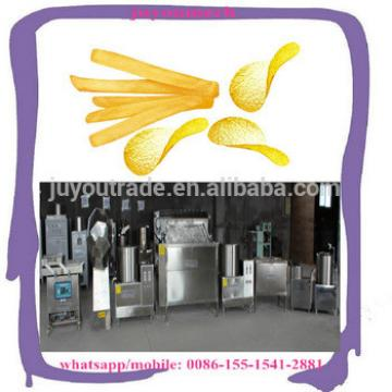 Small Scale Potato Chips Making Machine/Semi Automatic French Fries Making Production Line with Economic Price