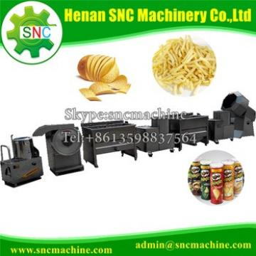 SNC Potato chips production line Industrial small scale potato chips making machine