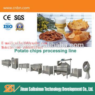 CE standard small capacity potato chips making machine