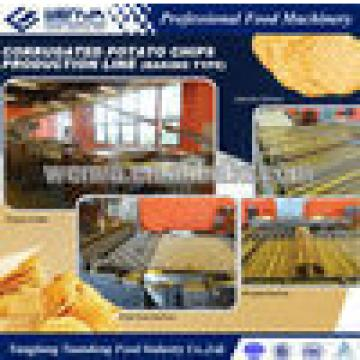 WENVA baked potato chip making machine