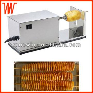 Electric Spiral Potato chips making machine