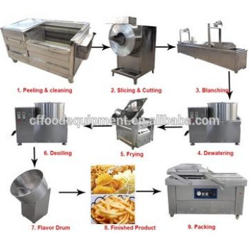 Potato french fries making machine india