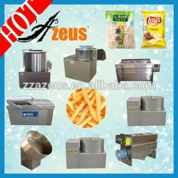 low cost 30kg/h Potato chips/french fries making machines