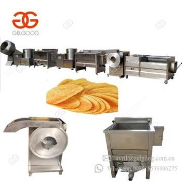 Low Price French Fries Production Line Potato Crisp Making Machine For Sale