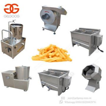 High Quality French Fries Production Line Plant Cost Fresh Potato Chips Making Machine For Sale