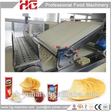 250Kg per hour stainless steel Pringles potato chips making machine