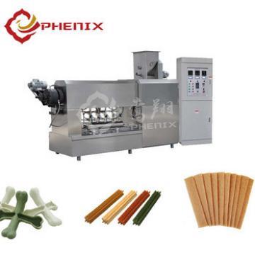 automatic pet dog chews / treat extruder machine production line
