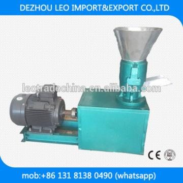 poultry animal feed pelletizer pellet making machine 300kg per h