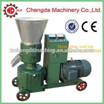 flat die animal feed pellet making machine and flat die wood pellet mill