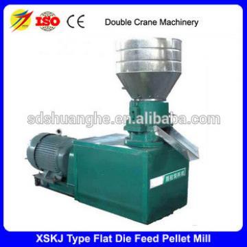 Flat die animal feed pellet mill machine pellet press machine for sale