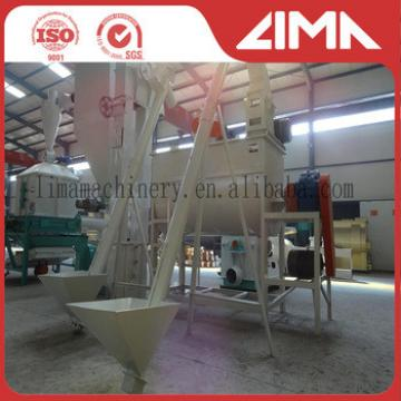 Top quality 1-20t/h ring die animal feed machine/animal feed pellet mill with factory price