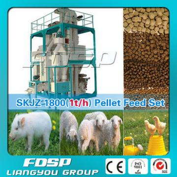 Competitive price animal feed pellet making machine for farm