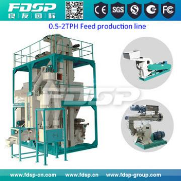 Animal Feed Pellet Machines For Cattle Pig Goat Feed Making