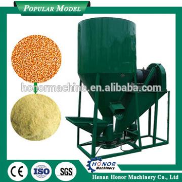combined animal feed crusher and mixer machine 1ton/hour
