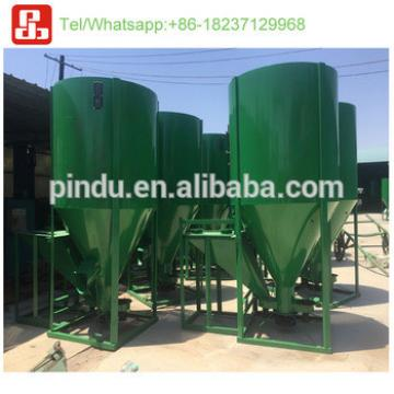 vertical poultry feed grinder and mixer/chicken feed mixing machine/mixer machine for animal feed
