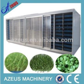Good feedback automatic hydroponic barley fodder breeding machine for feeding cattle,sheep,goats,animal,livestock
