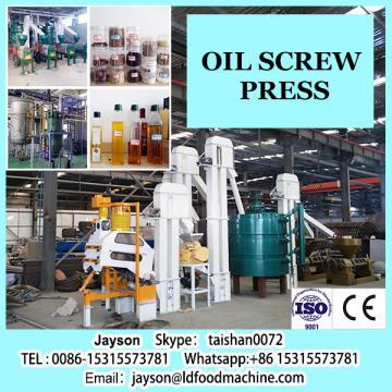 Ricinus communis screw oil press