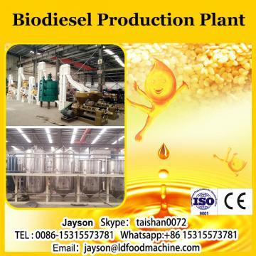 Biodiesel processing plant