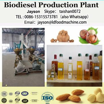 Crude palm oil biodiesel plant