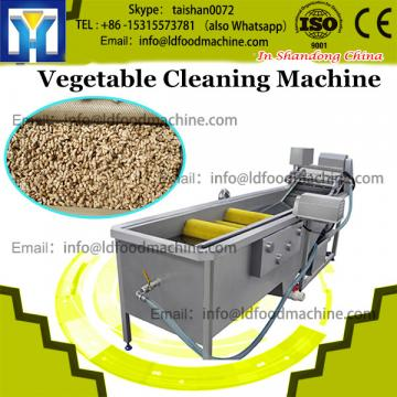 Continuous root vegetable cleaning machine