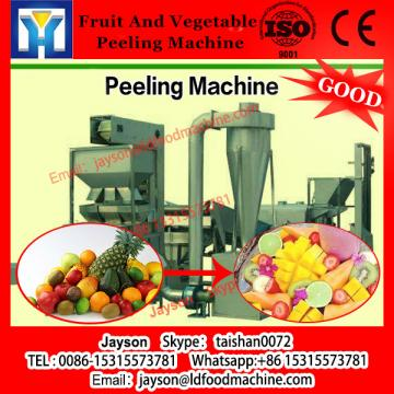 Commercial brush type cassava peeler