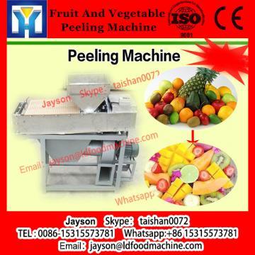 Vegetable and fruit roller brush potato washing and peeling machine