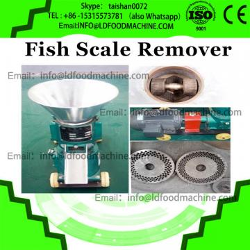 2017 big output brush roller type fish scaler, electronic scale removal, automatic fish scaling machine