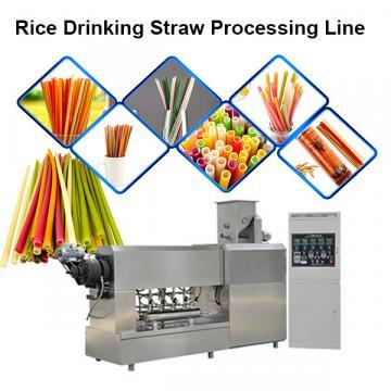 Chinese Manufacturer Industrial Biodegradable Edible Ecoware Rice Tapioca Drinking Straw Maker Making Machine