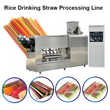 Ecological Drinking Straw Edible Straws Machine