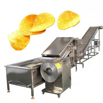 Automatic Continuous Meat And Vegetables Potato Chips Frying Machine