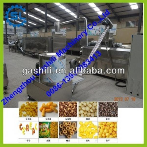 different shape flour snack food processing line made in china